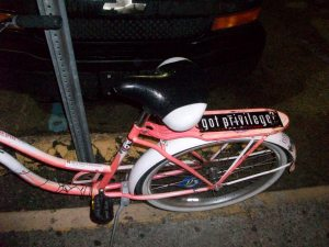 My Bike, Parked Outside One Eyed Jack's in the Quarter