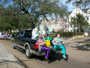 Thoth Parade on St. Charles