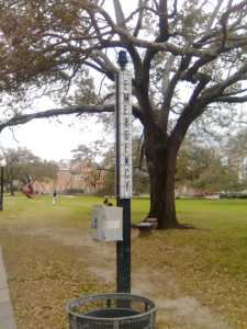 Emergency Phone at Tulane