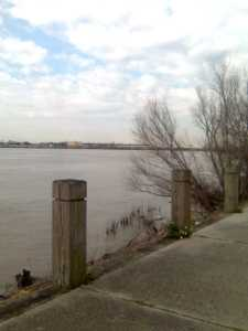 The Mississippi River at the Fly