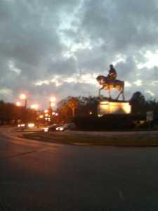 General Beauregard Statue at City Park