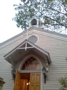 Church at Jackson and St. Charles
