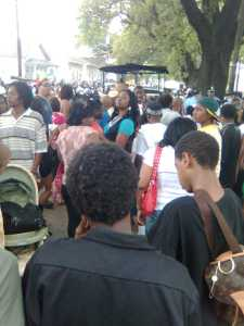 Super Sunday Crowd