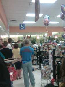 Big Lines at the Winn Dixie