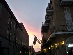 Twilight Sky at Dauphine and Bienville