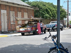 Fruit Truck in the Marigny