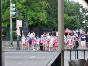 Matching T-Shirts at Jackson Square