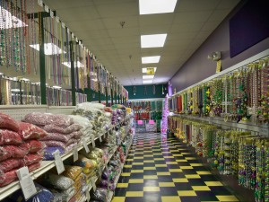 Mardi Gras Bead Shop in Elmwood