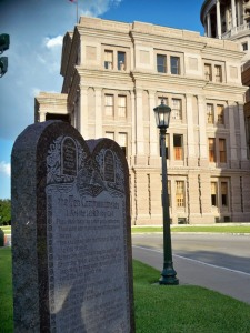 The Ten Commandments at the Texas State Capitol