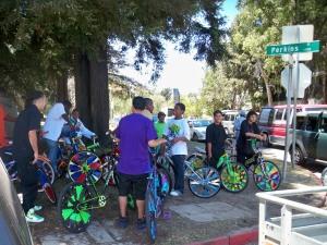 Scraper Bikes at Lakeside Park