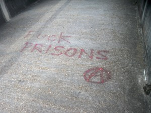 Fuck Prisons Graffitti