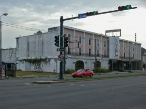 Abandoned Motel at Tulane and S. Galvez