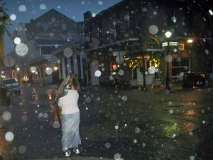 Rainstorm in the Quarter