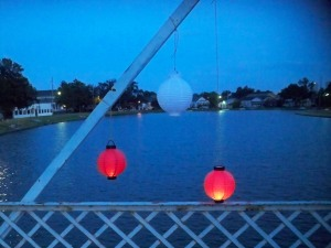 Lanterns on Bayou St. John