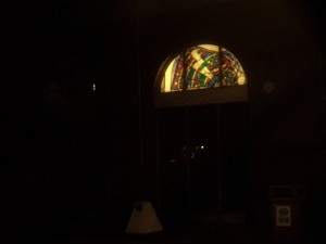 Stained Glass Window at Second District Police Station on Magazine