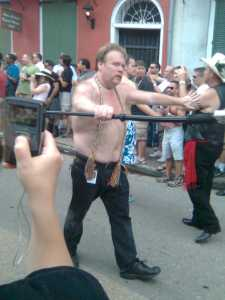 Crowd Control at Southern Decadence Parade