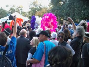 Mardi Gras Indians at Congo Square Rhythm Festival