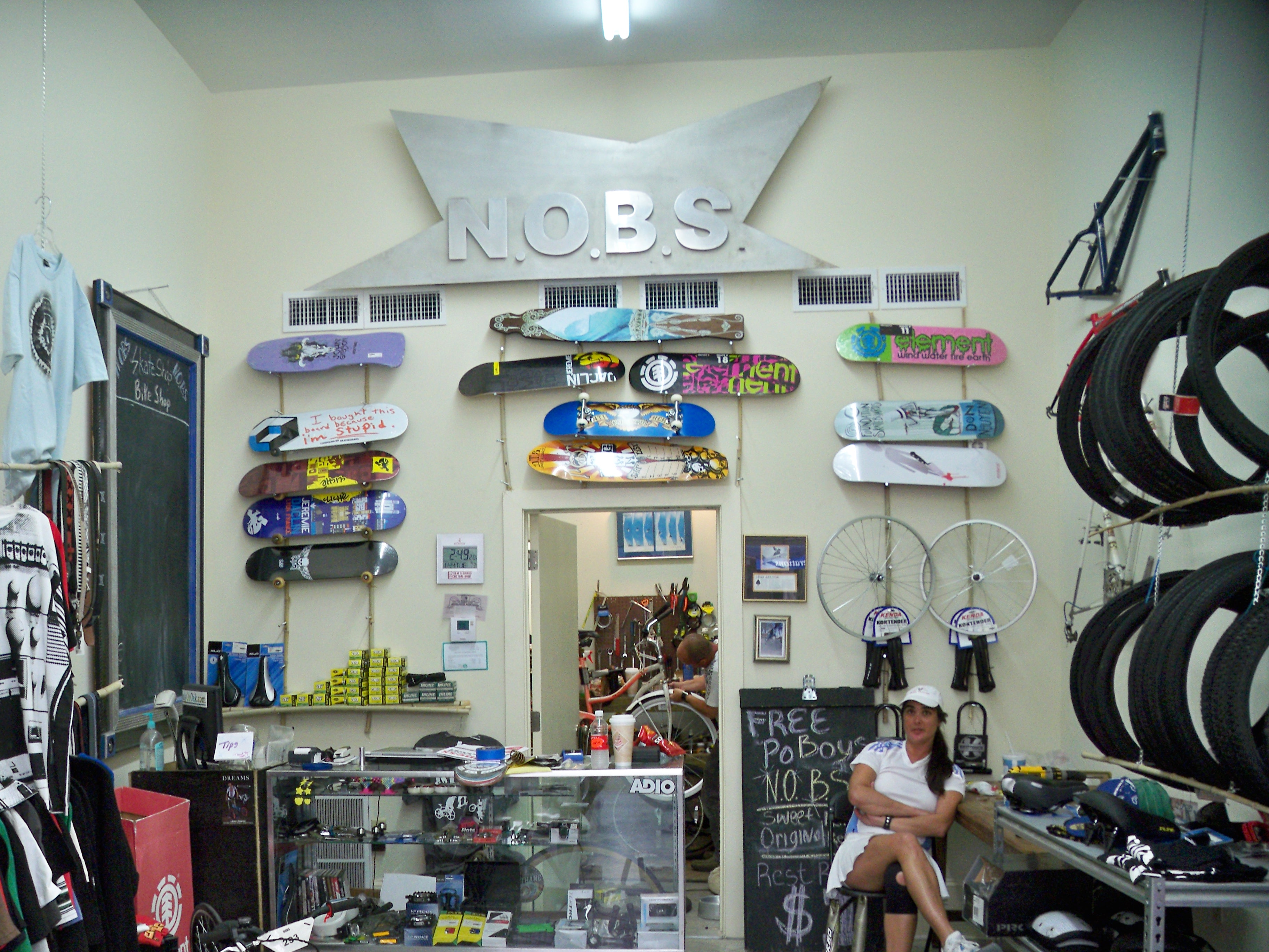New Orleans Bike And Board Shop On Oak Street What I Saw Riding