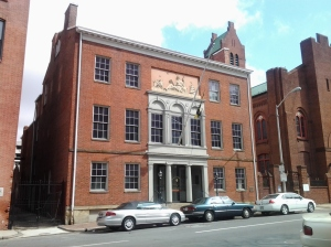 Peale Museum Building at 225 North Holliday Street