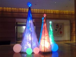 Christmas Decorations at the Four Season Hotel at Harbor East