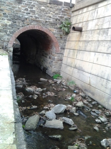 Tiny Canal at Clipper Mill Road and Union