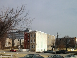 Two Row Houses Between Parks on Chase & Barclay