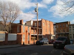 Brick Row Houses at Melvin & Emory