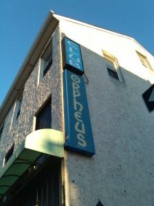 Club Orpheus Sign at Pratt & Exeter