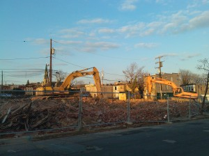 Pile of Rubble at 21st & Barclay
