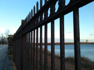 Fence Around the Reservoir at Druid Hill Park