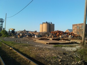 Scrap Metal at Cambridge Iron and Metal Recycling Center at O'Donnell & S. Haven