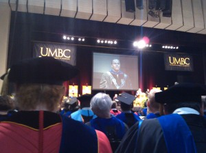 President Hrabowski Speaking at UMBC's Graduation at the Mariner Center