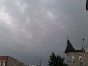 Stormy Skies Above Webster & E. Fort Avenue