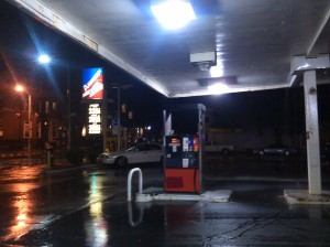 View From the Gas Station at 21st & Charles