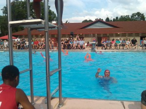 Fluid Movement's Water Ballet at Druid Hill Park Pool