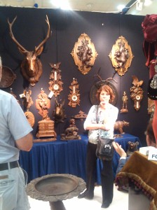 Antlers For Sale at the Baltimore Summer Antiques Show at the Convention Center
