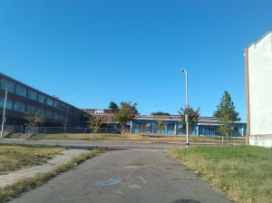 The Courtyard of Johnston Elementary School at Chase & Ensor