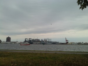View of the Harbor From Fort McHenry Park