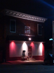 Hells Angels Headquarters at 21st & Hargrove Alley