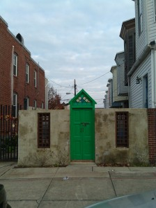 Green Door on Luzerne at E. Baltimore