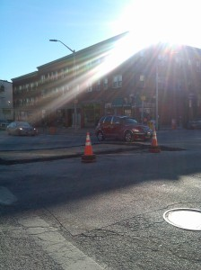 Road Work at 25th & Charles