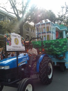 Krewe of Choctaw Plantation Float at Charles & Louisiana