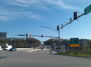 Looking Down Charles Street from I695