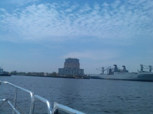 View From the Harbor Connecter En Route From Canton to Locust Point