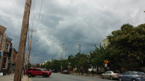 Gray Skies Over Hampden at 36th & Chestnut