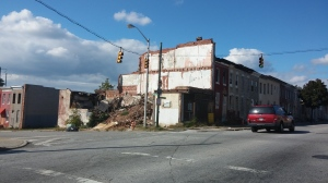 Demolished Building at E. Preston & N. Washington