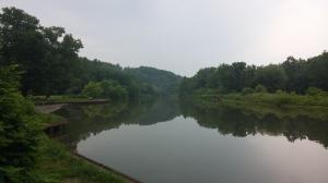 Lake at Gwynn Oak Park at Gwynn Oak and Gwyndale Avenues
