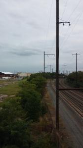 Railroad Tracks Under Edison Highway Between Madison & Biddle