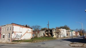 Blight at Lanvale & N. Patterson Park