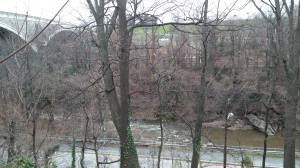 View From the Jones Falls Trail Between Druid Hill and Falls Road